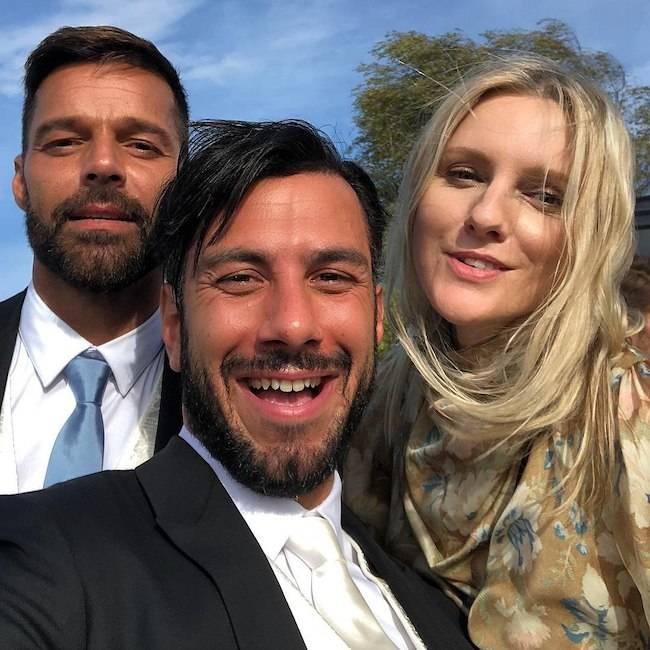 Ricky Martin, Princess Eugenie Wedding